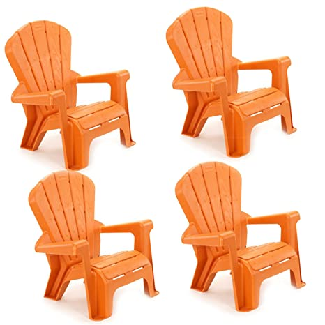 little tikes garden chair 4 pack orange - Little Tikes Garden Chair