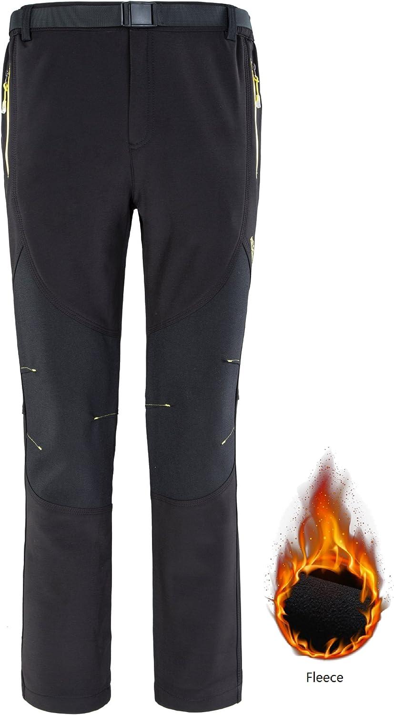 KARMARY Pantalones Térmicos Térmicos para Hombre Pantalones ...