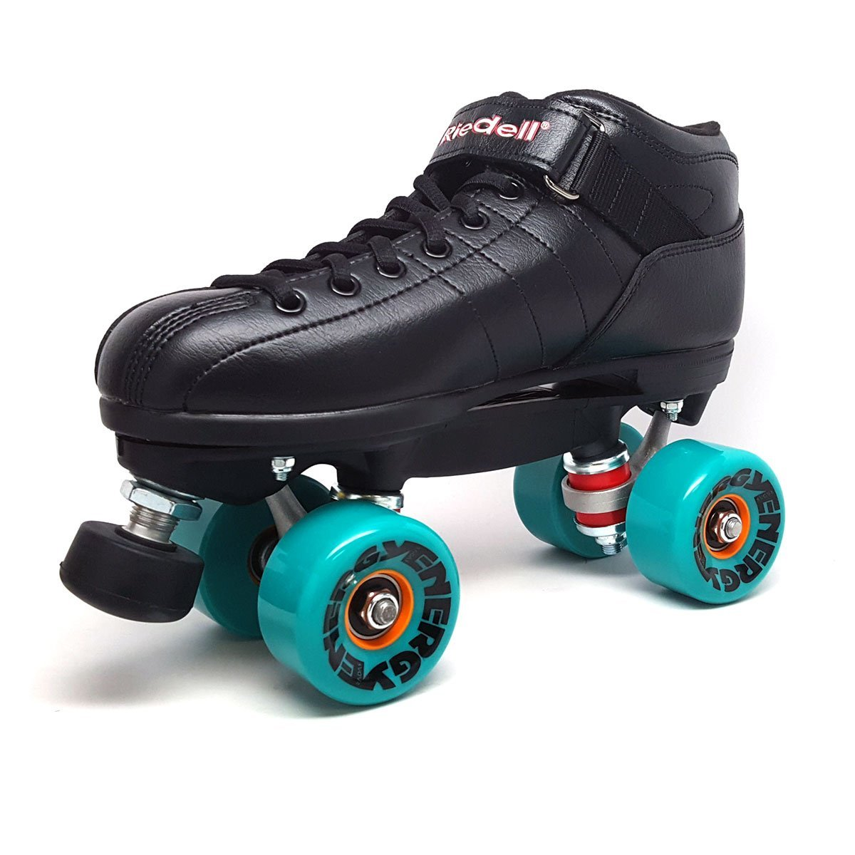 Riedell R3 Energy Aqua Outdoor Quad Roller Derby Speed Skates by Riedell