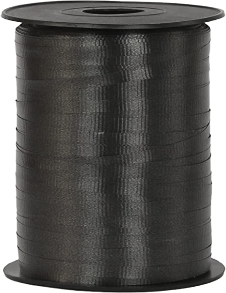 """10 yards Black 3//16/"""" curling ribbon gift wrap party supplies"""