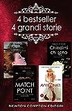 4 bestseller 4 grandi storie: Match point-Quella notte tutto è cambiato-Chiedimi chi sono-Avvicinati