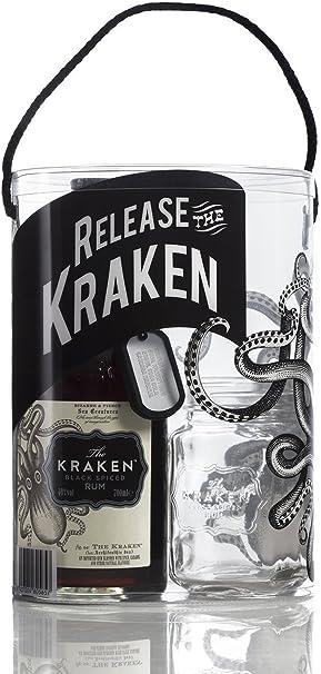 Ron The Kraken 70cl, pack con vaso: Amazon.es: Alimentación y ...