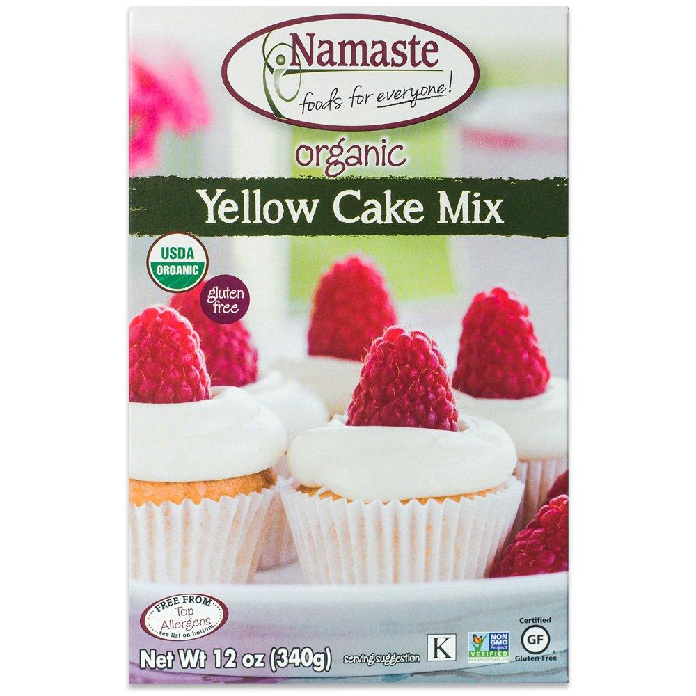 Namaste Foods Organic Yellow Cake, 12 Ounce