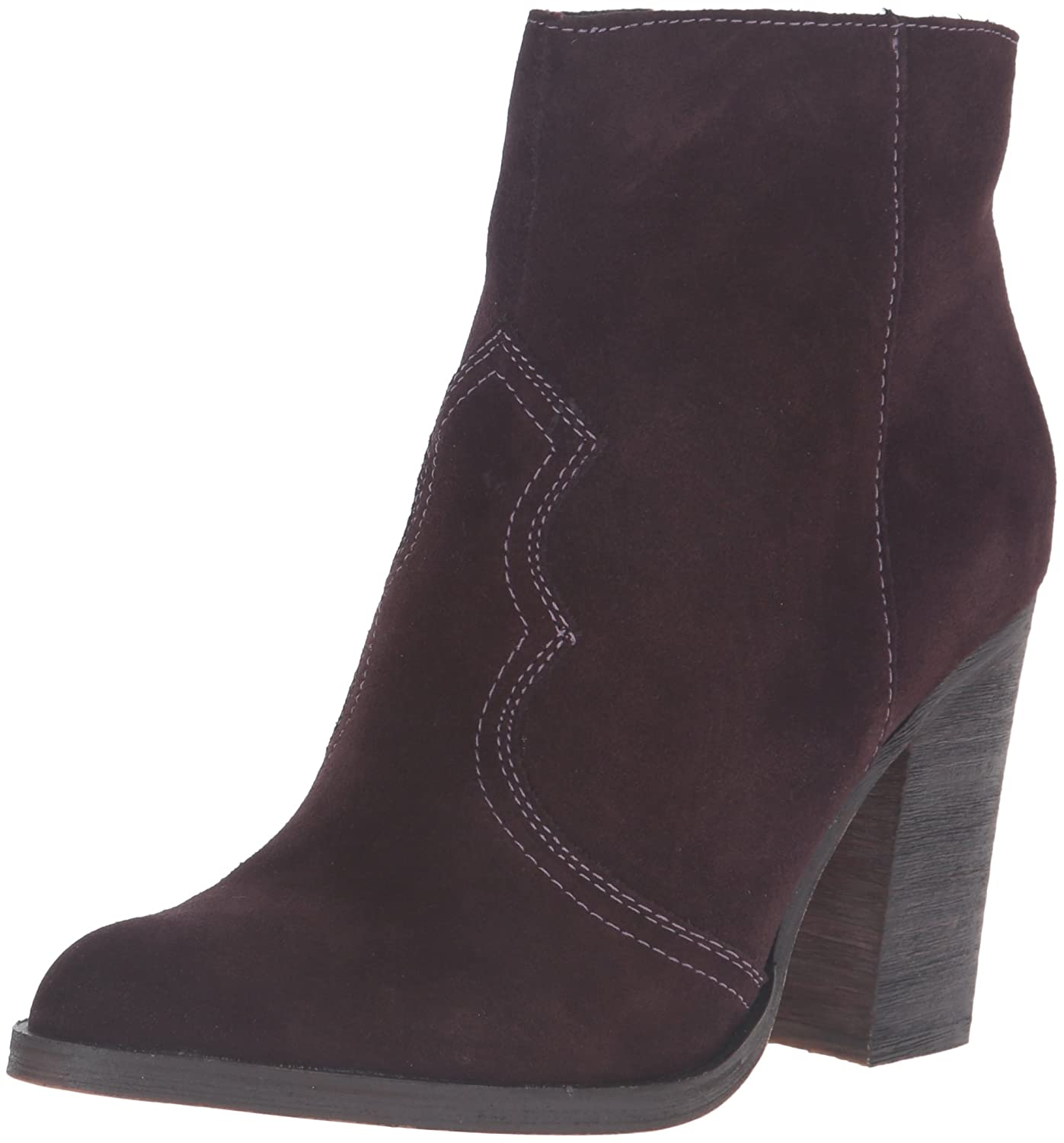 Dolce Vita Women's Caillin Ankle Bootie B01EMC8KX0 8 B(M) US|Mulberry