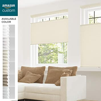 Amazoncom Chicology Custom Cordless Cellular Shades Fawn Privacy