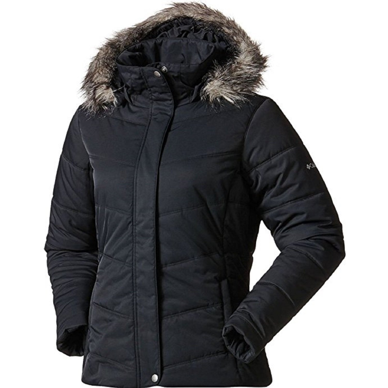 Columbia Omni-Shield Simply Snowy II Womens Winter Jacket 2017 (Black) (L)
