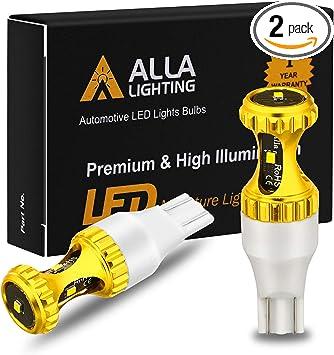 Alla Lighting 30-LED 921 Center High Brake Stop|Luggage Cargo Trunk Light Bulb V
