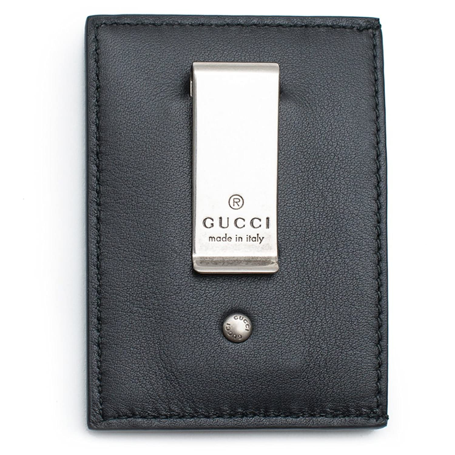 133956aba80b Gucci XL Money Clip has an embossed logo that extends across the front of  the wallet. Made in our smooth, classic leather On mould Construction  Vintage ...