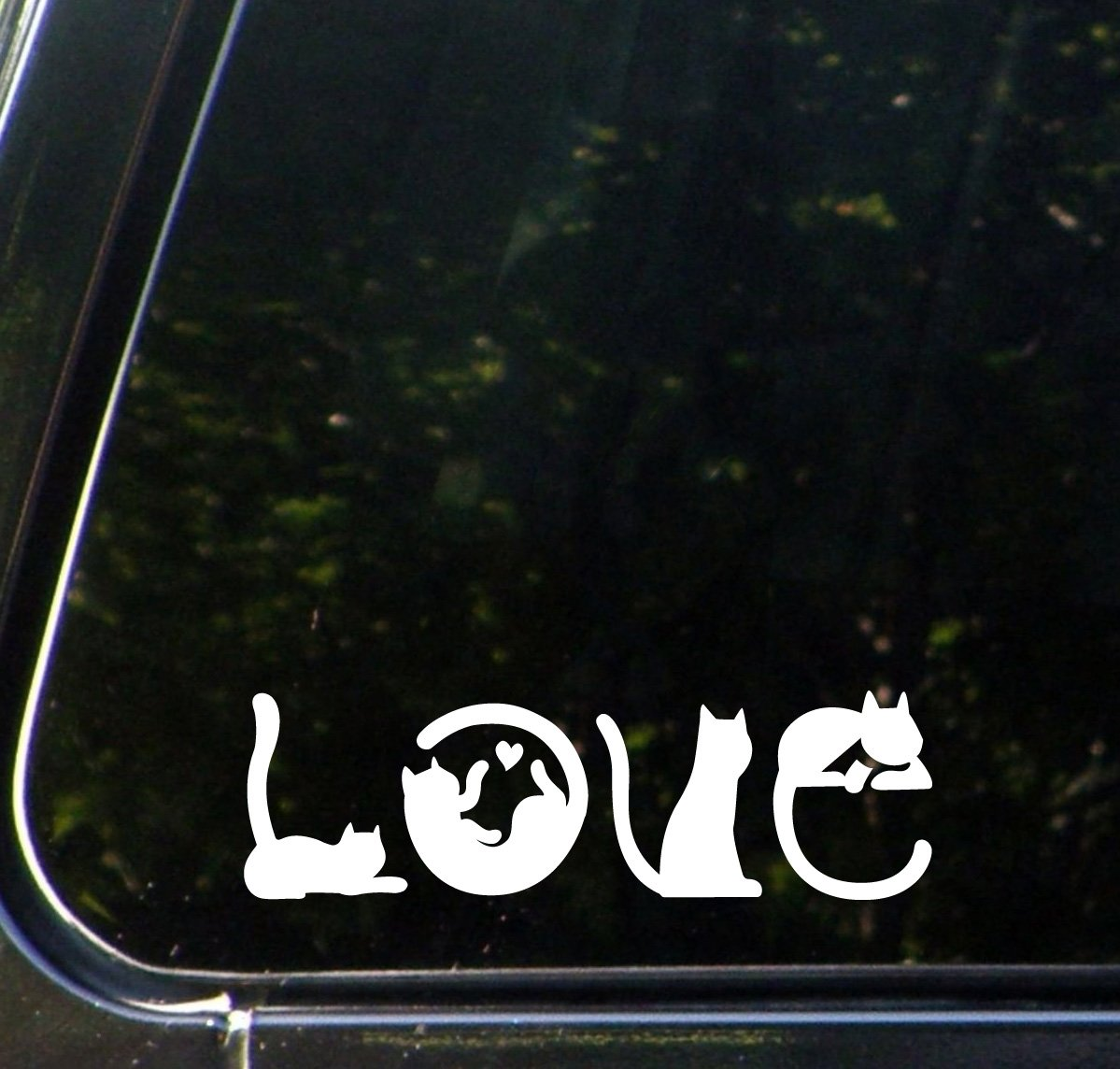 Amazoncom Cats Spell LOVE Car Vinyl Decal Sticker W X H - Custom vinyl decals for carvinyl car use vinyl decals to refresh your cars look