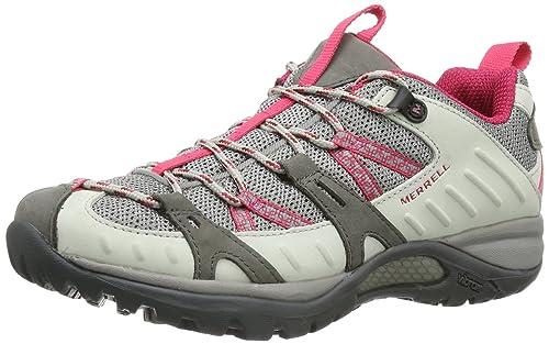 Merrell SIREN SPORT J24446 - Zapatillas de montaña de cuero para mujer, color blanco, talla 42: Amazon.es: Zapatos y complementos