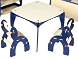 Buildex Freedom Table and Chair Set, Majestic Blue