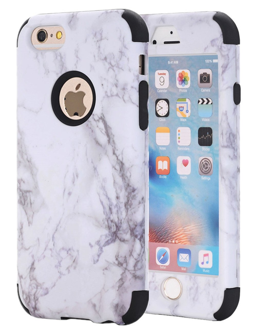 iphone 6s marble shockproof case