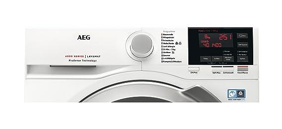 AEG L6FB67400 Independiente Carga frontal 10kg 1400RPM A+++ Blanco ...