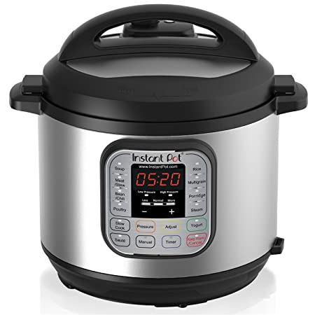 Instant Pot DUO60 7-in-1 Multi-Use Programmable Pressure Cooker, Slow Cooker, 6 Quart | 1000W