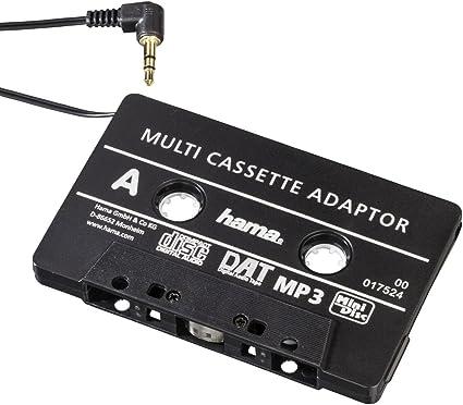 Hama Kfz Kassettenadapter Schwarz Elektronik