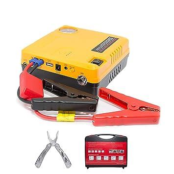 Car Jump Starter Air Compressor Pump 600A Phone power bank charger & Air  Pump USB Ports Portable 16800 mAh start a 6 0 L gas engine or 5 0 L diesel
