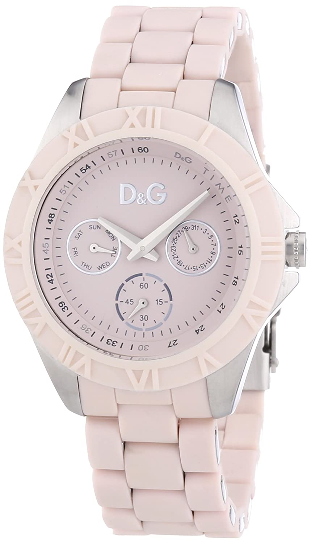 D&G Dolce&Gabbana Damen-Armbanduhr Chamonix Analog Kautschuk DW0780