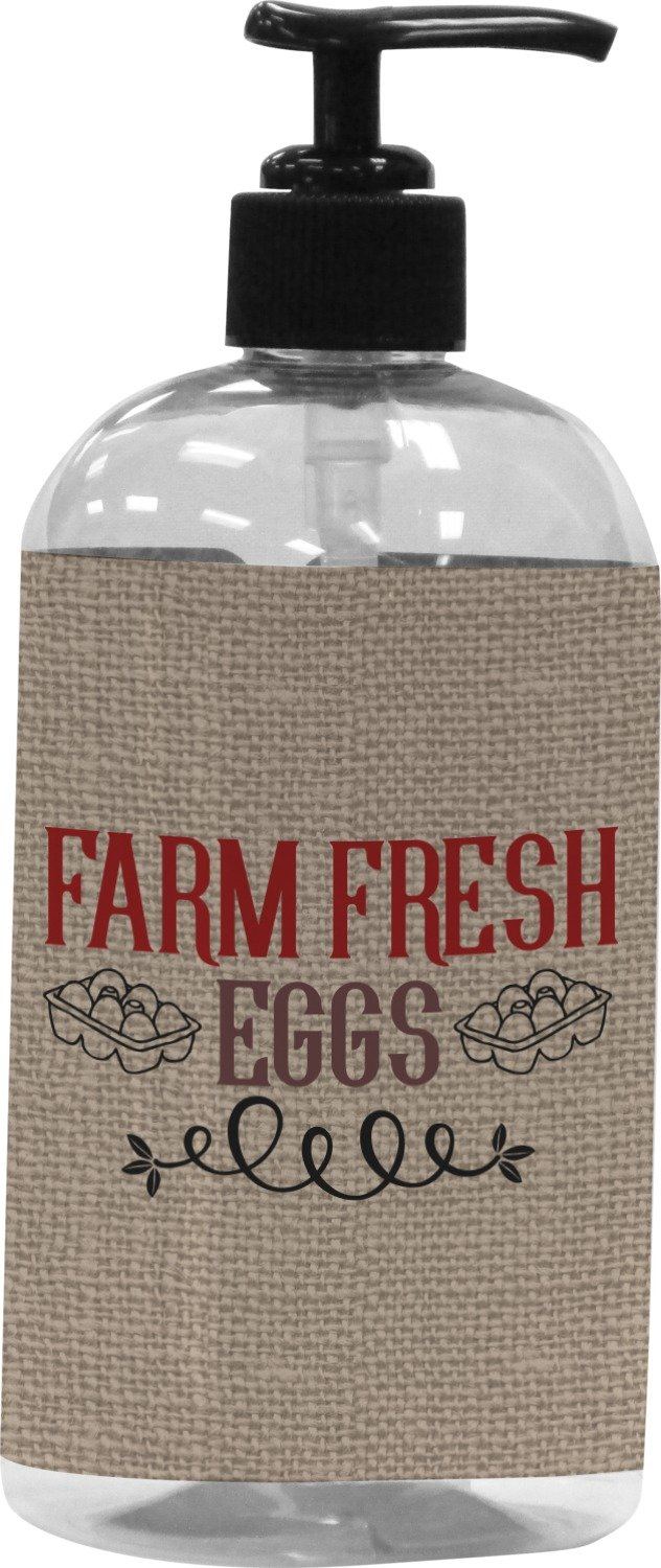 Amazon.com: RNK Shops Farm Quotes Plastic Soap/Lotion Dispenser (16 oz - Large) (Personalized): Home & Kitchen