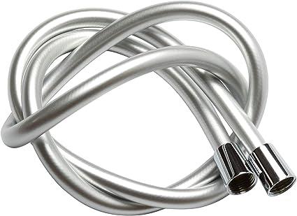 tubo flessibile per doccia a pioggia tubo flessibile per pistola a spruzzo per bidet bianco 1,5M tubo a molla Tubo flessibile per doccia