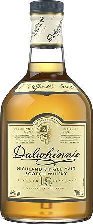 Dalwhinnie 15 Year Old es un whisky puro de malta de las Tierras Altas que procede de la destilería