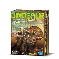4M Kidz Labs Dig a Triceratops Skeleton