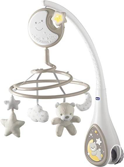 Babies R Us Little Casa Unisex Cot Bed Baby Musical Mobile from Birth 0 months