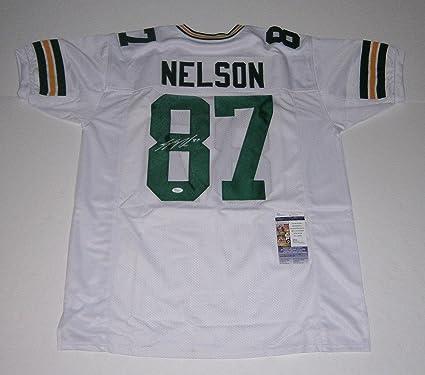 more photos 98d51 d0fc9 Autographed Jordy Nelson Jersey - w/ #87 COA - JSA Certified ...