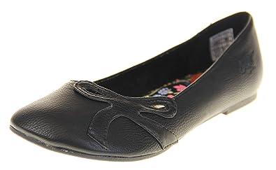 premium selection f9268 1e15e Rocket Dog Schuhe Damen Ballerinas Schwarz EU 36: Amazon.de ...