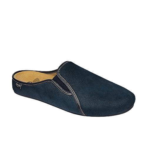 scarpe da corsa scelta migliore fabbricazione abile DR.SCHOLL FELCE CIABATTA UOMO BLU BIOPRINT