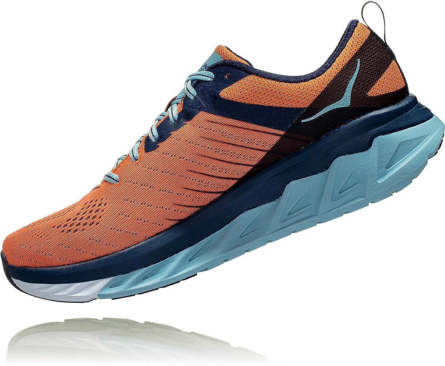 Hoka One One Arahi 3 Running schuhe schuhe schuhe Men Nasturtium Patriot Blau 2019 Laufsport Schuhe b19009