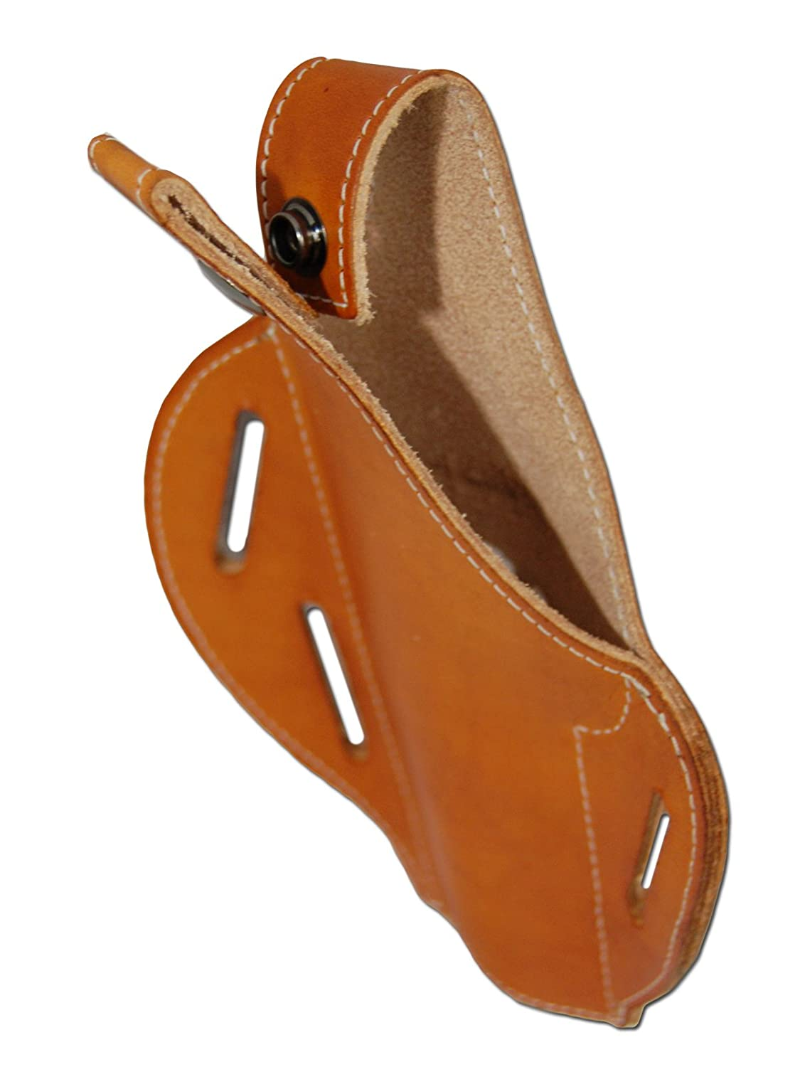 Details about  /New Tan Leather Pancake Holster Dbl Mag Pouch Springfield Full Size 9mm 40 45