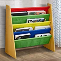 Levede Wooden Kids Children Bookcase Bookshelf Toy Organiser Storage Bin Rack Model 5
