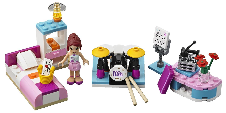 Lego Accessories For Bedroom Amazoncom Lego Friends 3939 Mias Bedroom Toys Games
