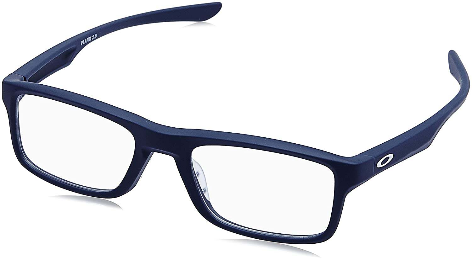 103525bd57c55 OAKLEY Eyeglasses PLANK 2.0 (OX8081-0351) Softcoat Universal Blue MM at  Amazon Men s Clothing store