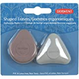 Derwent Shaped Eraser Blister Pack of 2