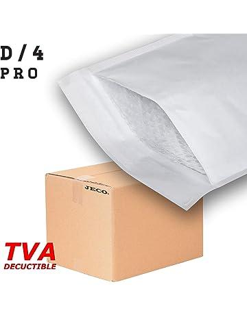 JECO/® pochettes dexp/édition VAD 25x35 cm 50 microns Enveloppes plastique dexp/édition opaques 250x350 mm 100 solide inviolable et imperm/éable L/ég/ère