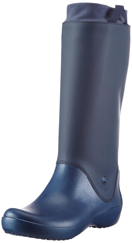 Crocs RainFloe Boot - Botas de agua, Color Negro41/42 EU|Blu (Navy/Navy)