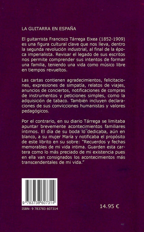 Diario y cartas (Spanish Edition): Torge Braemer, Francisco Tárrega Eixea: 9783738607314: Amazon.com: Books