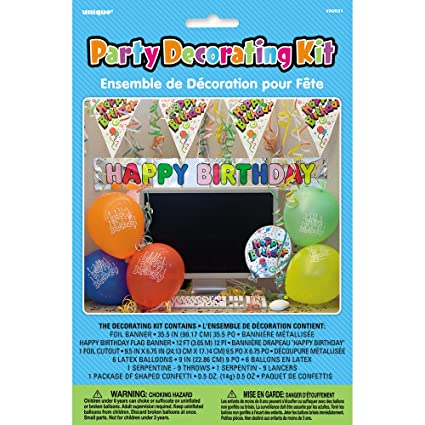 Amazon Office Birthday Party Cubicle Decoration Kit 7pc