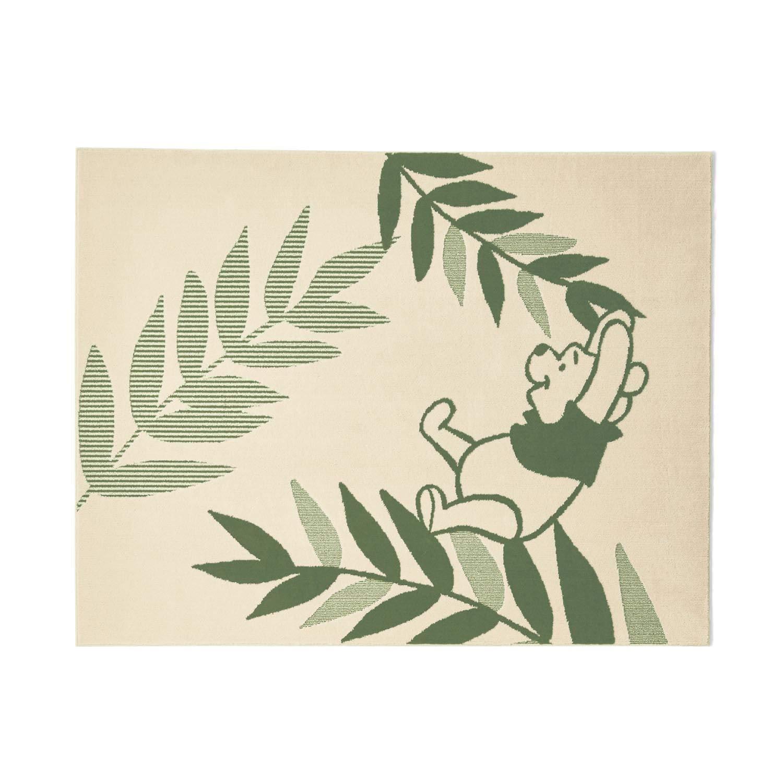 [ベルメゾン] ディズニー 防ダニ 加工 洗える 日本製 ラグ くまのプーさん サイズ(cm): 約190×240 B07HNKND3R くまのプーさん サイズ(cm):約190×240