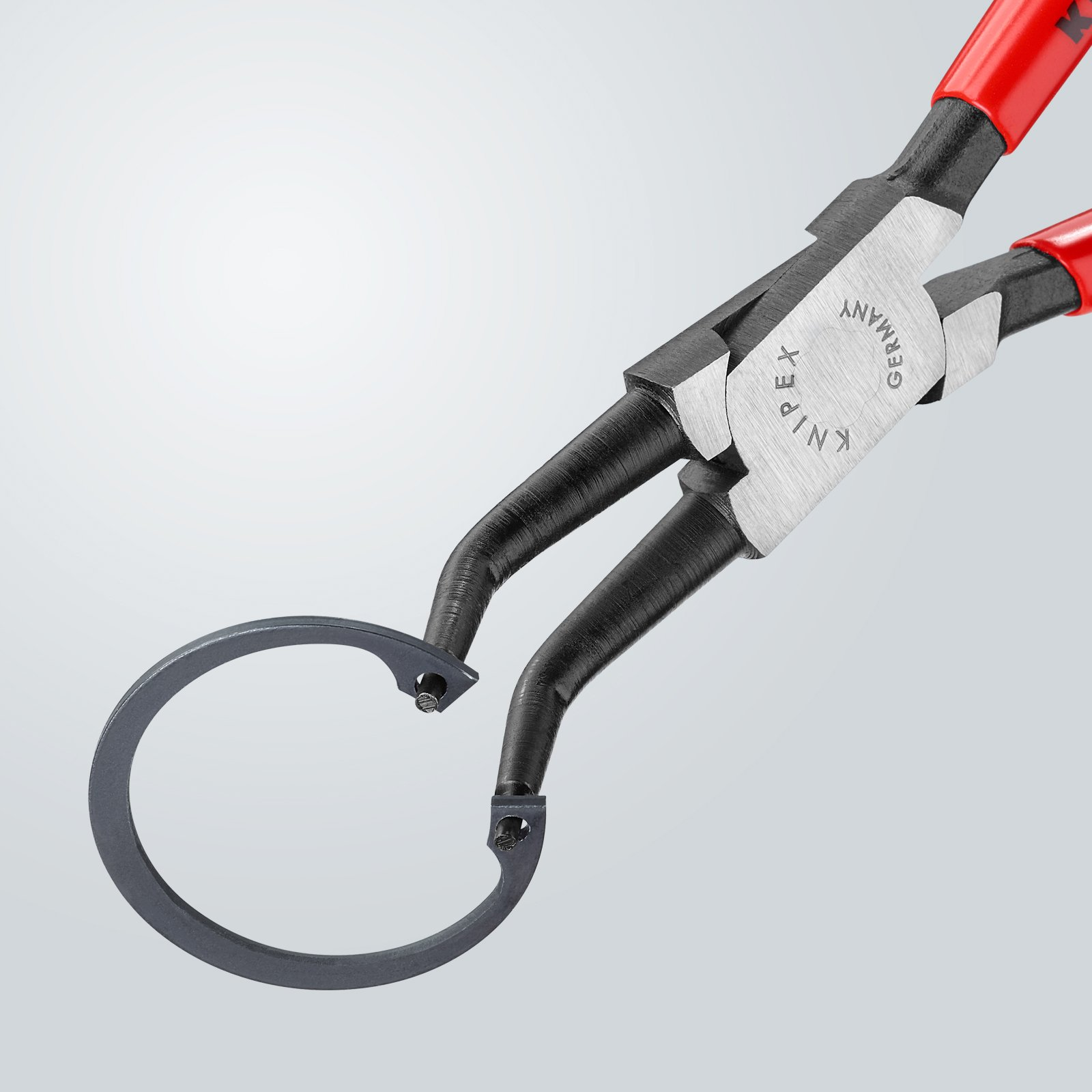Knipex 44 31 J32 40-100mm 45° angled Circlip Pliers by KNIPEX Tools