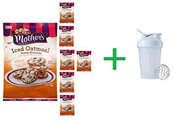 Amazon.com: Mothers Iced Oatmeal Cookies, 12 oz (7 PCS) + ...