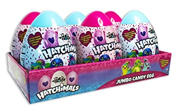Amazon hatchimals jumbo candy egg easter basket stuffer 423 hatchimals jumbo candy egg easter basket stuffer 423 oz pack of 6 negle Choice Image