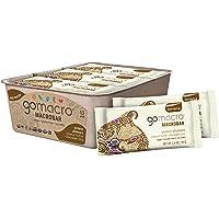 GoMacro MacroBar Organic Vegan Protein Bars Peanut Butter + Chocolate Chip 2.4 Ounce Bars (Pack of 12)