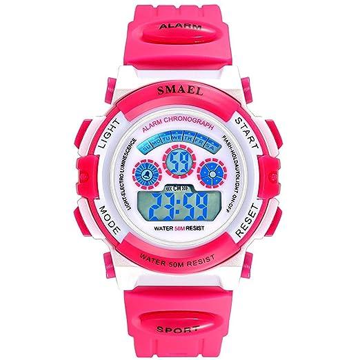 Daesar Relojes Niños Relojes Electronicos Reloj Impermeable Reloj Hombre Luminoso Reloj de Estudiante Reloj Inteligente Reloj Smartwatch Reloj Multifunción ...