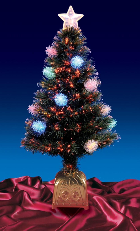 4 Foot Fiber Optic Christmas Trees