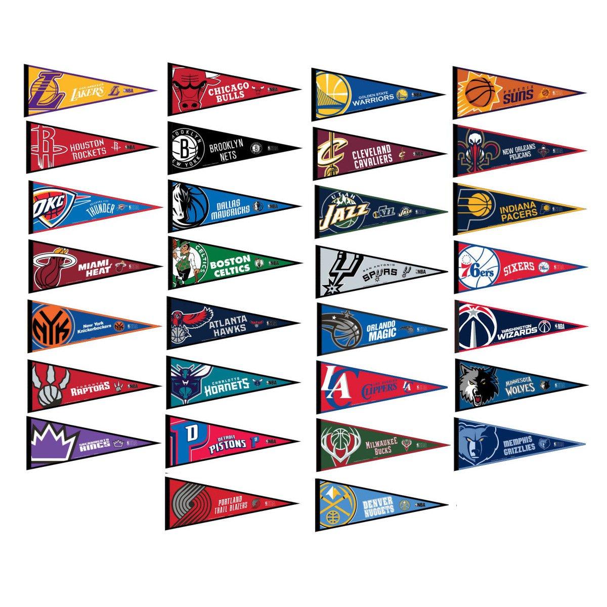 NBA Pennant Set