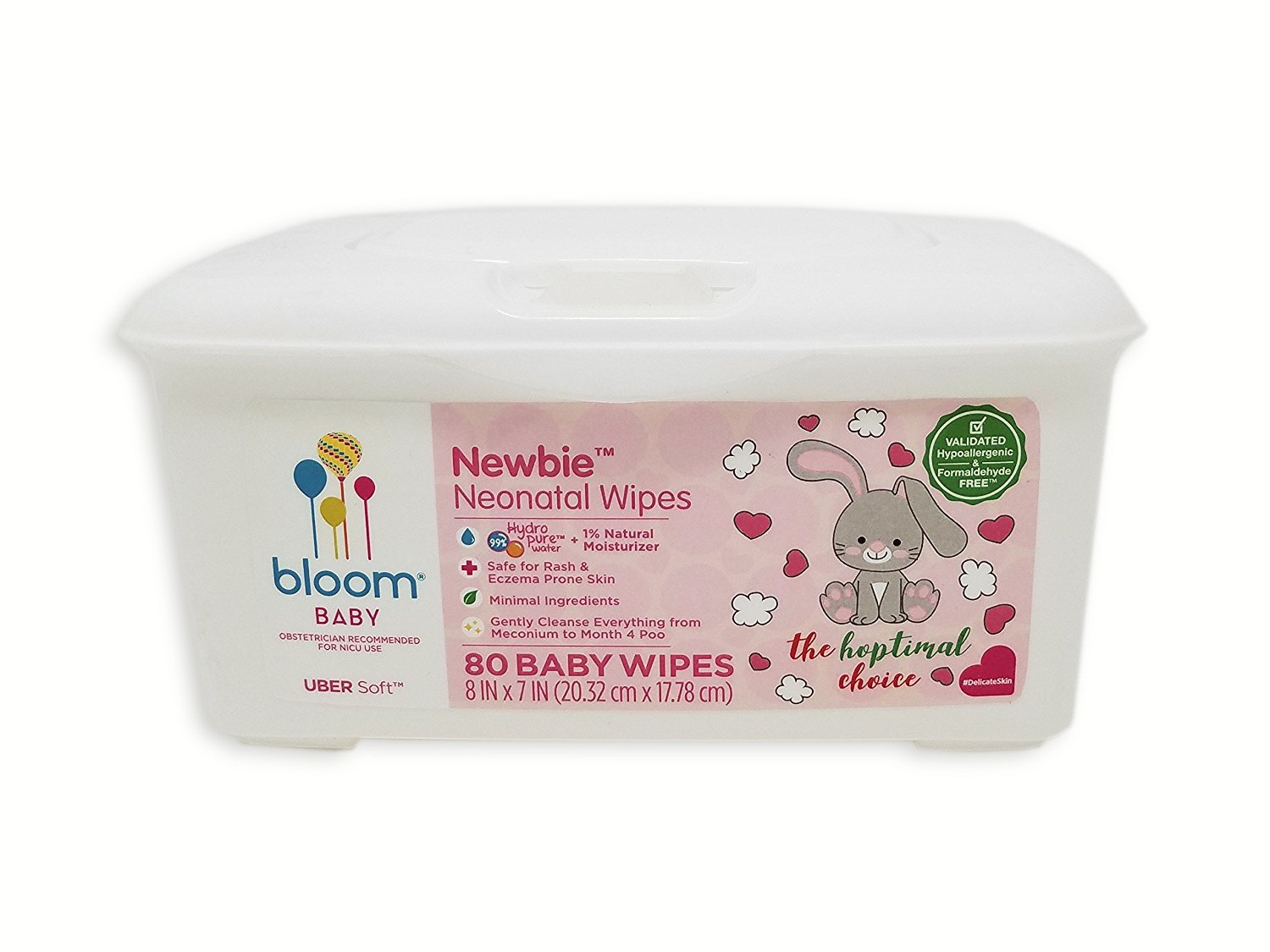 bloom BABY Sun Dry Baby Wipes Tub