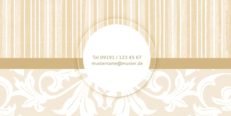 Kartenparadies Kartenparadies Kartenparadies Danksagung für Hochzeitsgeschenke Hochzeit Dankeskarte Streifenzauber, hochwertige Danksagungskarte Hochzeitsglückwünsche inklusive Umschläge   20 Karten - (Format  215x105 mm) Farbe  champagner B01MTBL2WE | Deutschland  645416