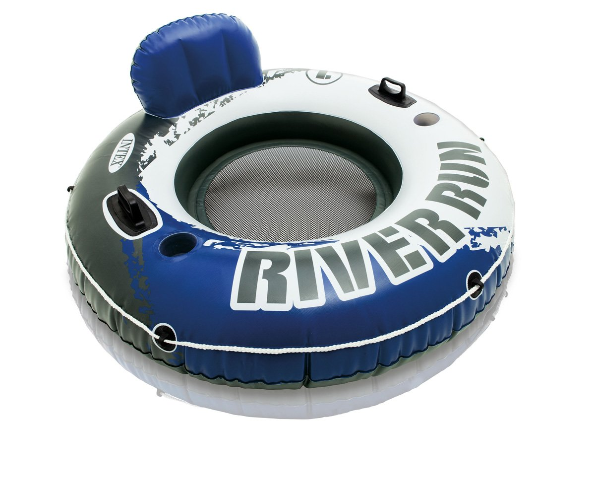 Intex River Run 1 Person Floating Tube (6 Pack) & River Run Lounge (4 Pack) by Intex (Image #3)